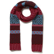 Paul Smith Accessories Women's Fairisle Scarf - Pink