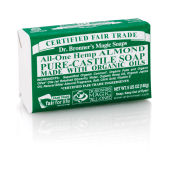 Dr. Bronner Organic Almond Castile Liquid Soap (946ml)