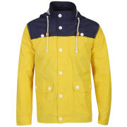 Brave Soul Men's Lloyd Jacket - Yellow/Navy