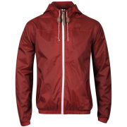 55 Soul Men's Ennis Nylon Jacket - Chilli Pepper Red