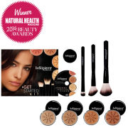Bellapierre Cosmetics Get Started Kit Dark (Worth £154.97)