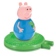 George Pig Weebles Wobbly Figure and Base