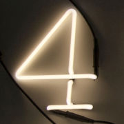 Seletti Neon Font Shaped Lamp - 4