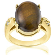 TIGERS EYE RING- PU662 T
