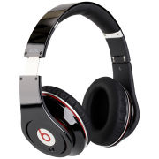 Beats by Dr. Dre: Studio Noise Cancelling HD Headphones with Microphone - Black