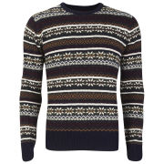 Brave Soul Men's William Jumper - Navy