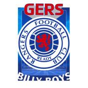 Rangers Crest - Lenticular Poster - 47 x 67cm