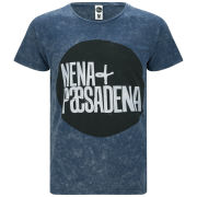 Nena & Pasadena Men's Logo 14 T-Shirt - Blue