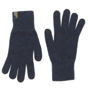 Barbour Dunbar Knitted Touchscreen Gloves - Naval Blue