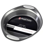 Russell Hobbs 12 Inch Round Cake Pan with Silicone Grip Handles