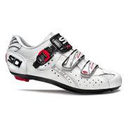 Sidi Genius 5 Fit Mega Carbon Cycling Shoes - White - 2015