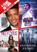 The Pop Collection: Bruno Mars, Justin Bieber, Miley Cyrus and The Jonas Brothers
