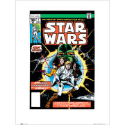 Star Wars Comic Covers - 60 x 80cm Print