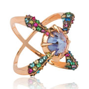 Katie Rowland Cross 18 CT Ring - Rose Gold