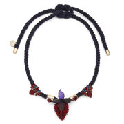 Matthew Williamson Women's Strawberry Rope Necklace - Navy