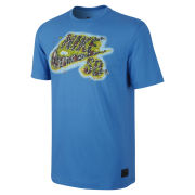Nike SB Men's Dri Fit Green Spaces T-Shirt - Photo Blue