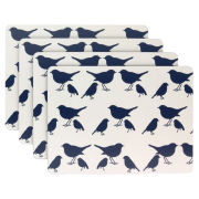 Anorak Kissing Robins Placemats (Set of 4)