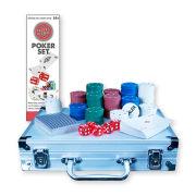 200 Piece Poker Set In Aluminium Case