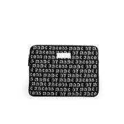 Marc by Marc Jacobs Logo Printed 13 Inch Case - Black Multi