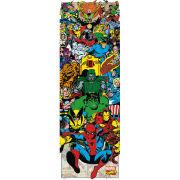 Marvel Characters Portrait - Door Poster - 53 x 158cm