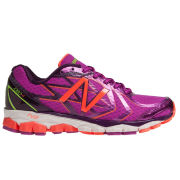 New Balance Women's NBX 1080v4 Trainers - Purple/Yellow