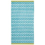 Scion Lace Towel - Blue