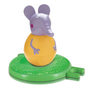 Emily Elephant Weebles Wobbly Figure and Base