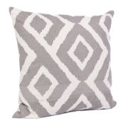 Malini Graphic Print Cushion - Slate