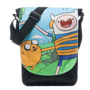 Adventure Time Finn And Jake Top Loader Messenger Bag