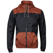 55 Soul Men's Athlete Jacket - Navy/Rust