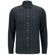Marc By Marc Jacobs Men's Beano Plaid 100% Cotton Shirt - Midnight Navy
