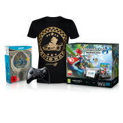 Wii U Bayonetta 1 + 2 First Print Edition Action Pack (T-Shirt - Small)