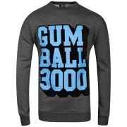 Joystick Junkies Men's Gumball Crew Neck Sweatshirt - Charcoal