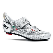 Sidi T3 Air Cycling Shoes - White/Silver 2014