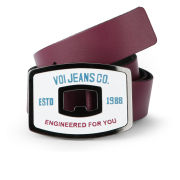 Voi Men's Checo Leather Belt - Zinfandel
