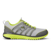 K-Swiss Men's Blade-Light Running Shoes - Silver/Charcoal/Volt Green