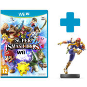 Super Smash Bros. for Wii U + Captain Falcon No.18 amiibo