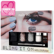 Nails Inc Bling it On Hologram Collection