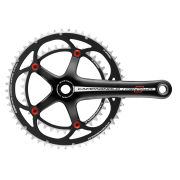 Campagnolo Centaur Alloy Compact Chainset - Black/Red