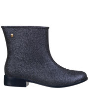 Melissa Women's Moon Dust Ankle Boots - Midnight Glitter