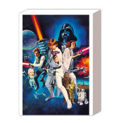 Star Wars A New Hope One Sheet B - 40 x 30cm Canvas