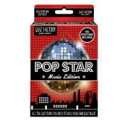50Fifty Quiz Factory - Pop Star - Multi
