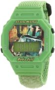 Star Wars Kids' Boba Fett Digital Watch - Nylon Strap - Green