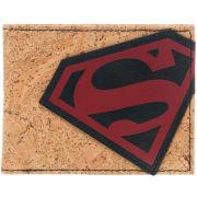 DC Comics Superman Red Angled Logo Bi-Fold Wallet