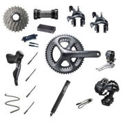 Shimano Ultegra Di2 6870 11 Speed 39/53 Groupset - Grey