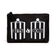 Lulu Guinness Bits and Bobs Zip Pouch - Black