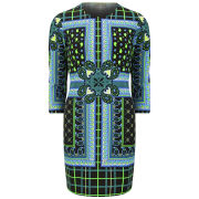 Emma Cook Women's Paisley Scarf Bodycon Dress - Multi