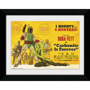 Star Wars Boba Fett Poster - Collector Print - 30 x 40cm