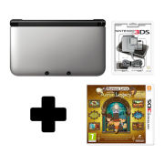 Nintendo 3DS XL White Professor Layton and the Arzan Legacy Pack