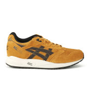 Asics Men's Gel Saga Trainers - Tan/Dark Brown Suede